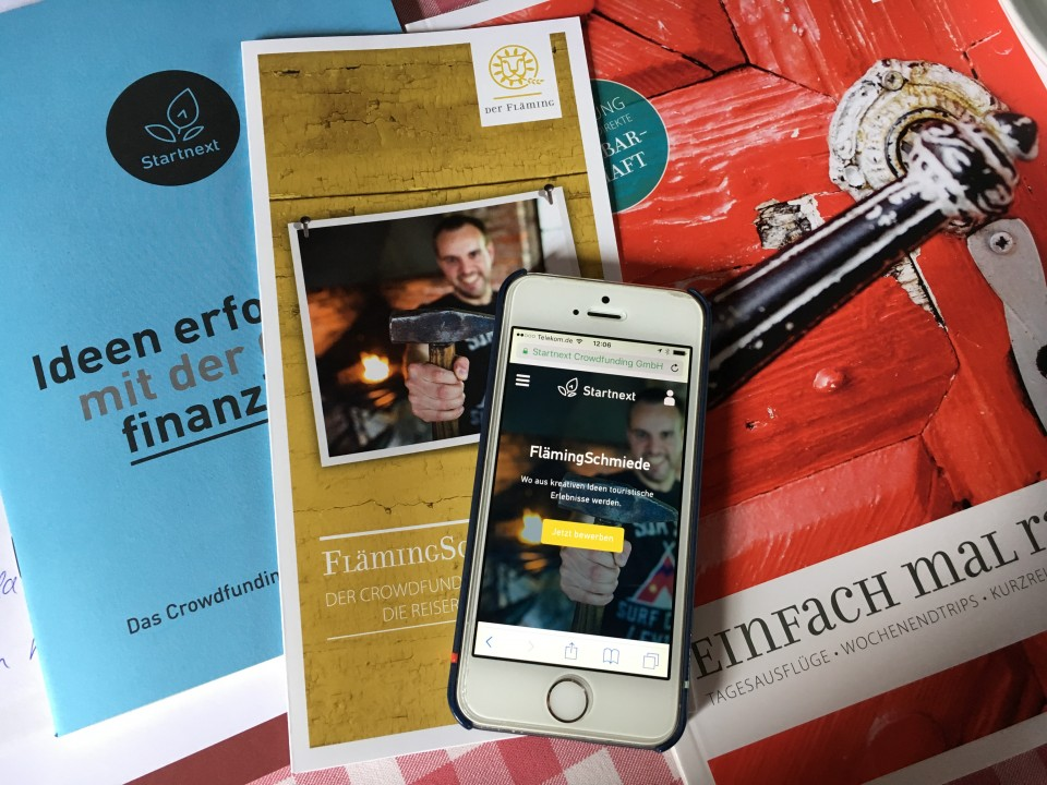 Foto Crowdfunding Fläming-Schmiede