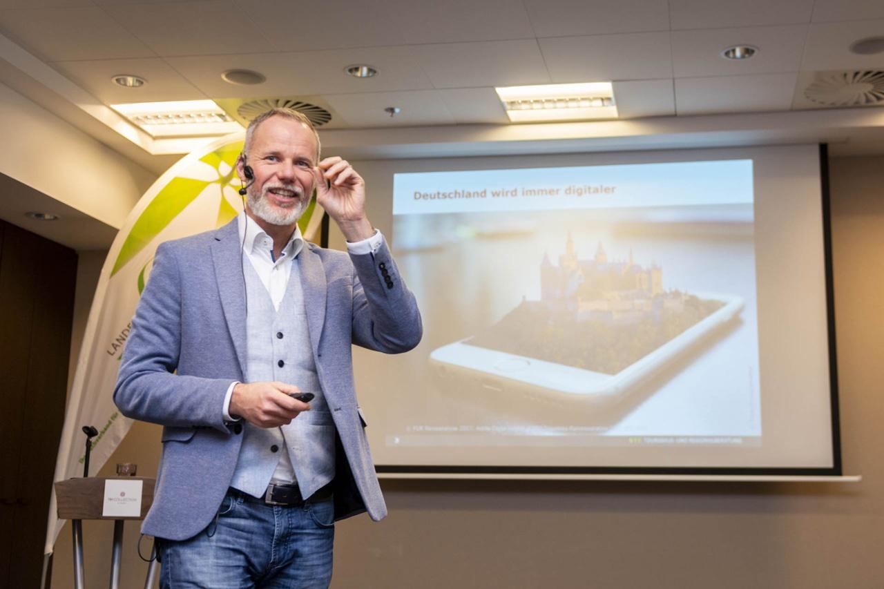 Vortrag zum Thema Nachhaltigkeit und Digitalisierung