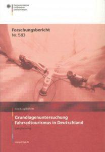 Titel Fahrradtourismus in Deutschland