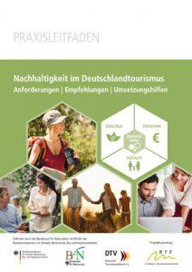 Titel Leitfaden Nachhaltigkeit im Deutschlandtourismus