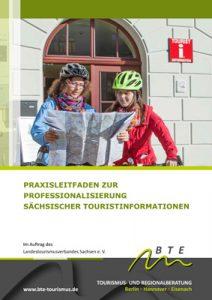 Titel Leitfaden Professionalisierung Touristinformationen