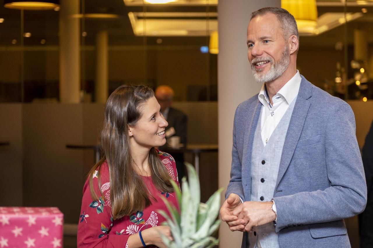 Dr. Alexander Schuler im Gespräch mit Mandy Eibenstein (LTV Sachsen)