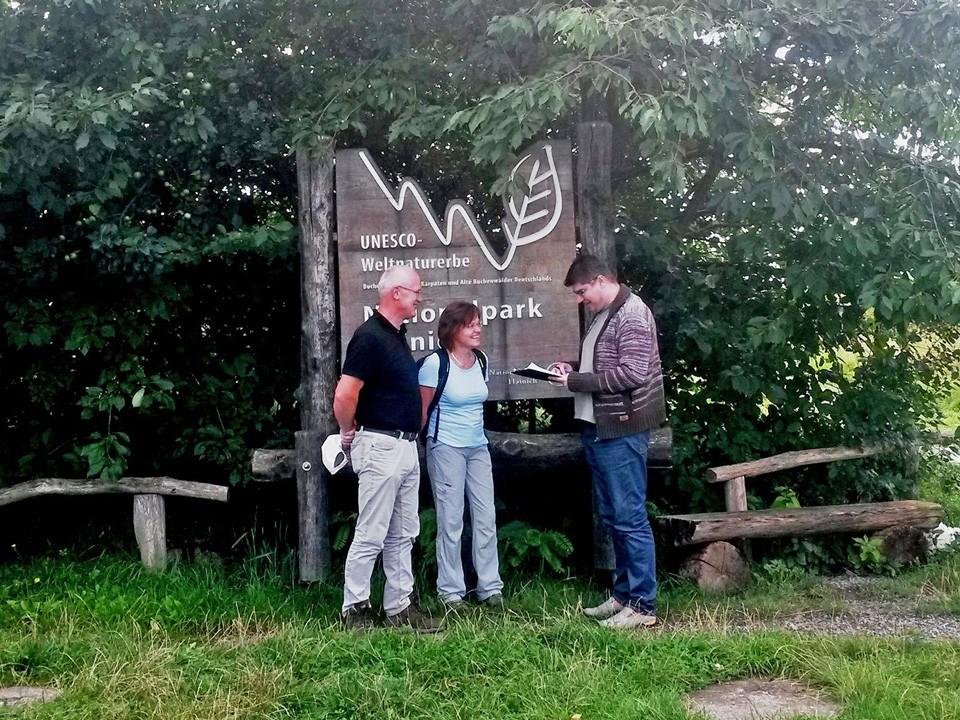Marktforschung Befragung Nationalpark Hainich