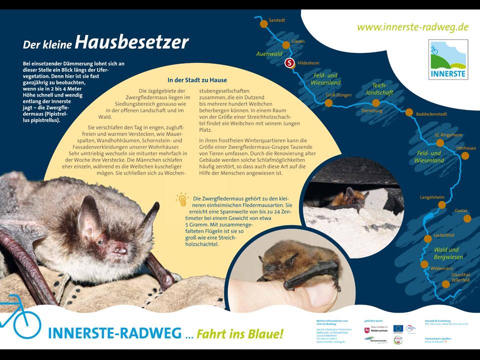Besucherinformation Innerste-Radweg Infotafel