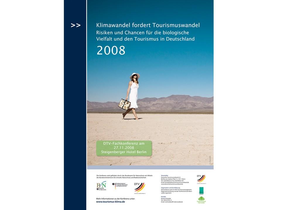 Konferenzorganisation Klimawandel Tourismus