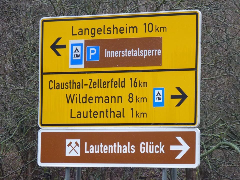 Leitsystem Harz