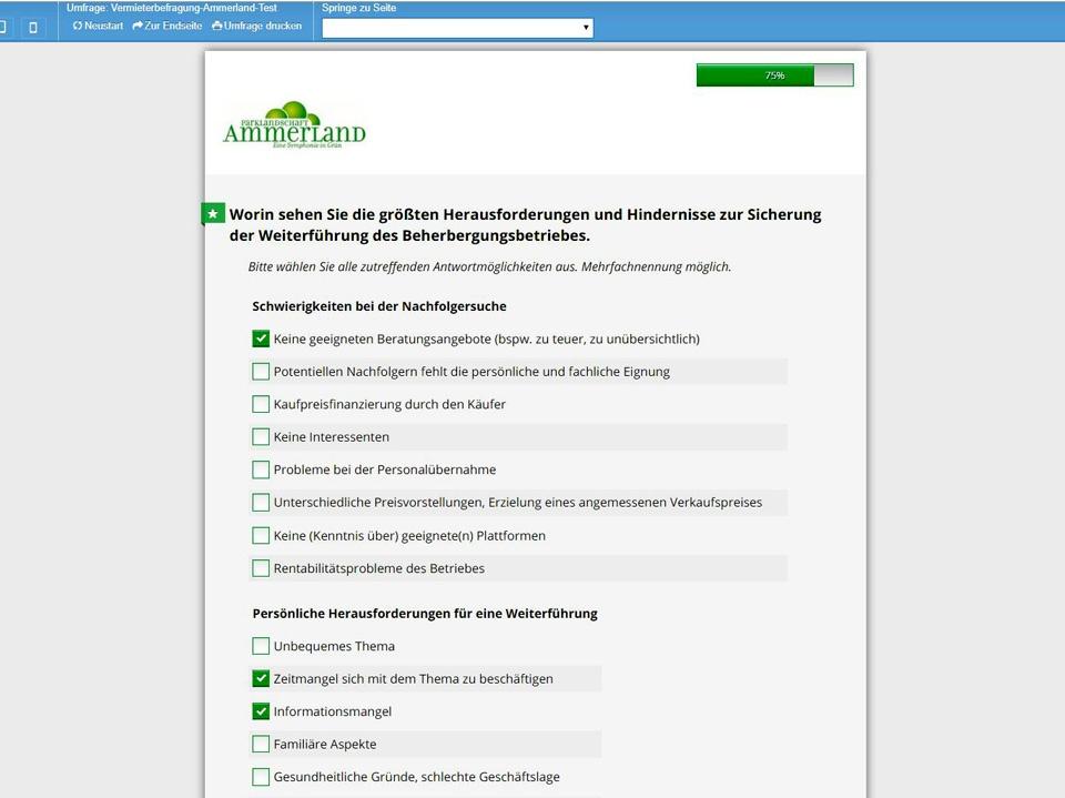 Vermieterbefragung Ammerland