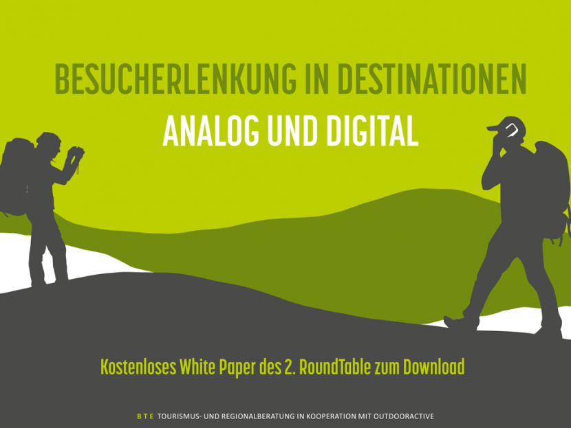 Titel Whitepaper Besucherlenkung in Destinationen