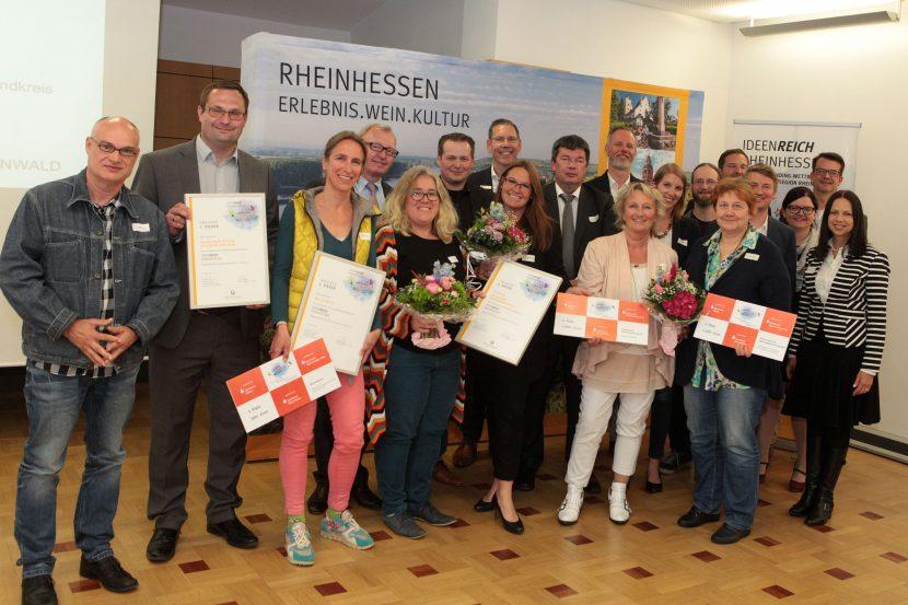 Siegerehrung des Crowdfunding-Contests Rheinhessen