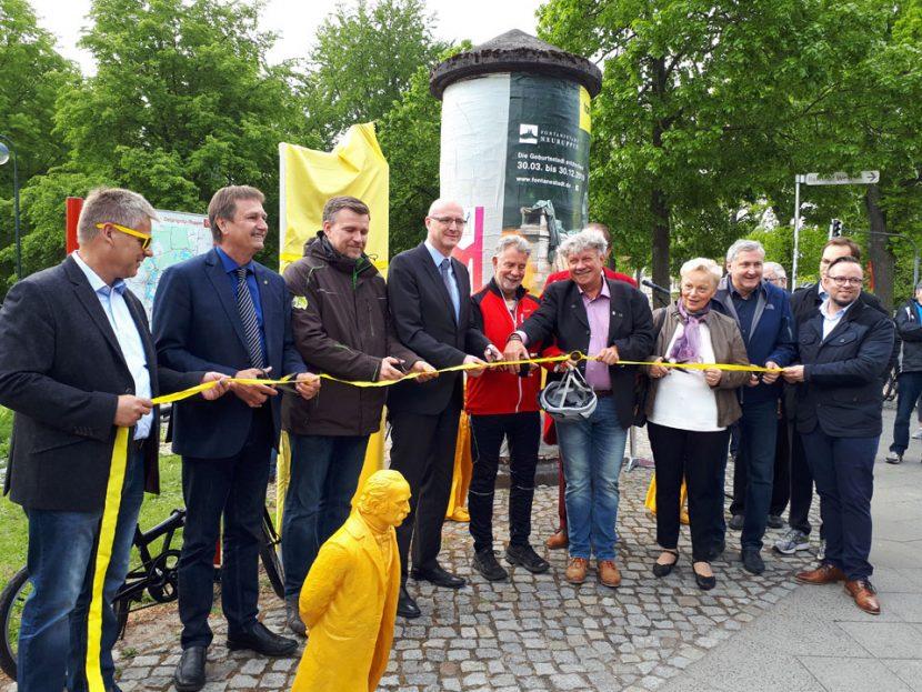 Eröffnung der Fontane-Radroute Fontane.Rad