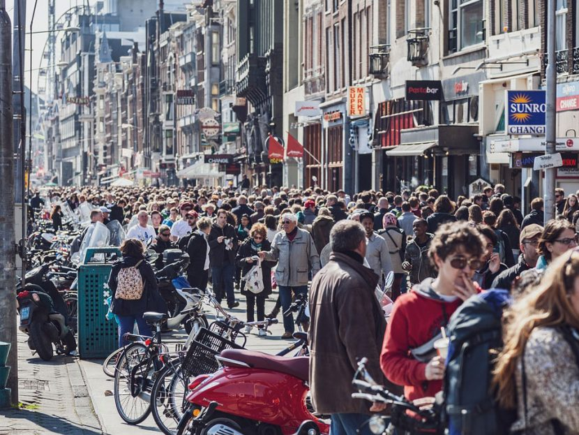 Overcrowding Amsterdam