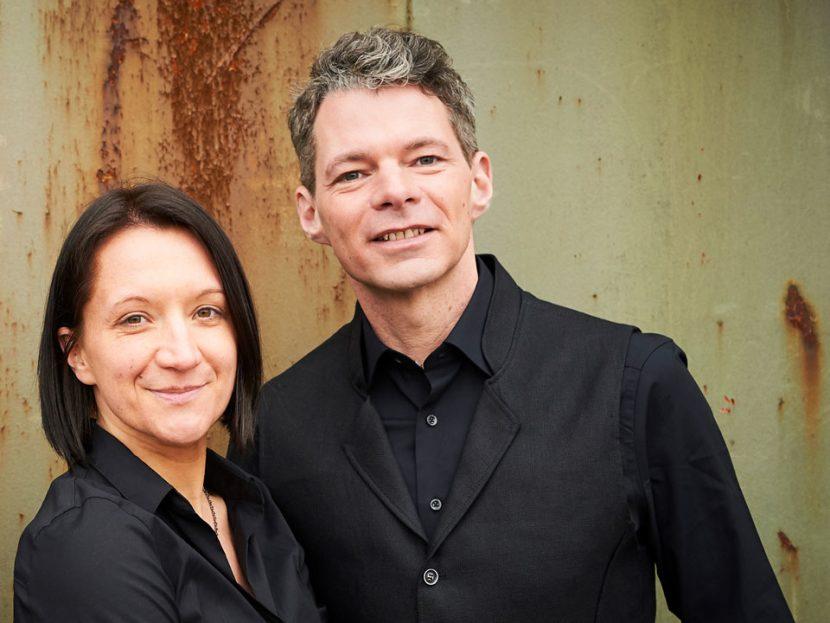 Foto von Julia Jung und Stefan Niemeyer