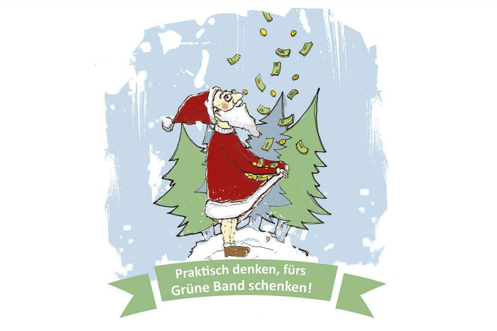 Grafik Weihnachtsmann