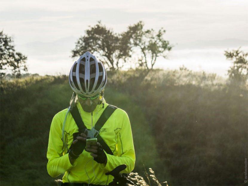 digitales Routing Radfahrer